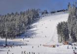 Ein Paradies für Skifahrer und Co. ist der Wurmberg im Winter.