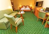 Waldhotel Roggosen in Neuhausen an der Spree, Beispiel Doppelzimmer