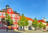 Historisches Rathaus von Suhl.