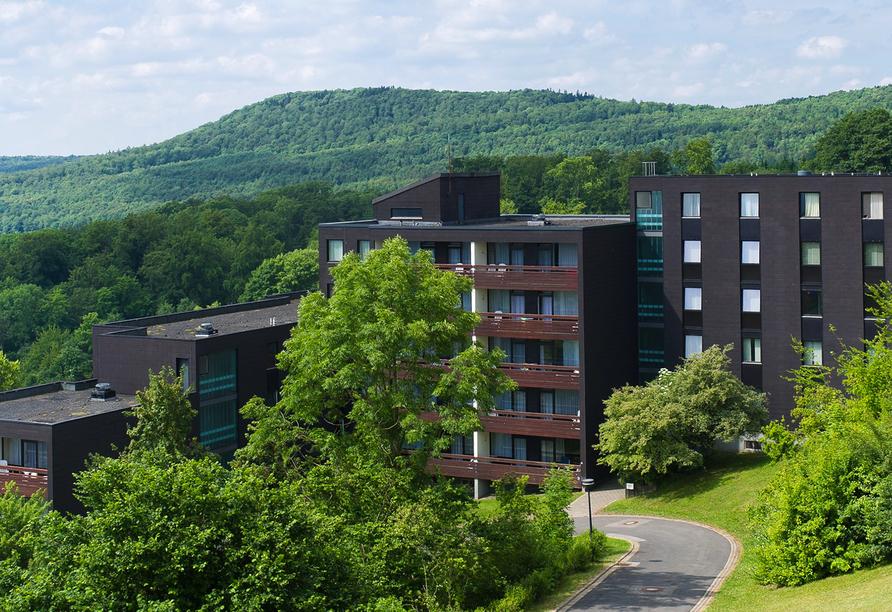 Rhön Park hotel in Hausen-Roth, Außenansicht