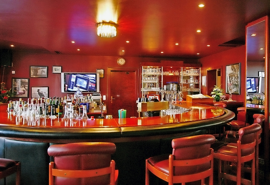 The Royal Inn Park Hotel Fasanerie in Neustrelitz, Mecklenburgische Seenplatte, Bar