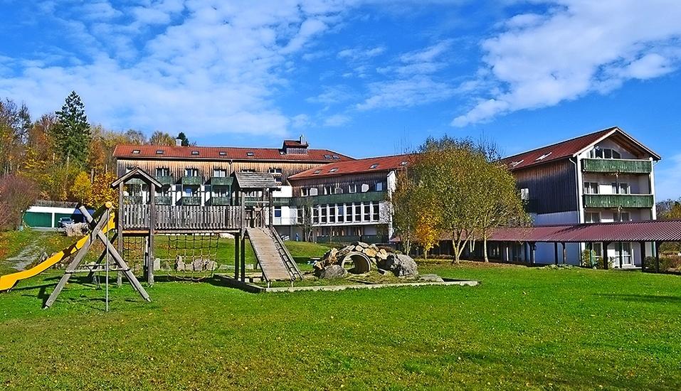 Hotel Am Pfahl in Viechtach, Bayerischer Wald, Außenansicht
