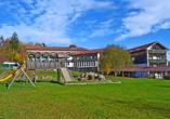Hotel Am Pfahl in Viechtach, Bayerischer Wald, Spielplatz