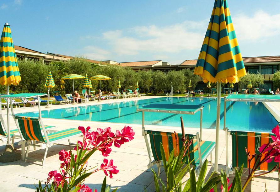 Park Hotel Oasi Garda Gardasee Italien, Pool