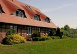 Flair Seehotel Zielow in Ludorf, Außenansicht