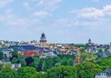Hotel Alexandra in Plauen im Erzgebirge, Stadtpanorama von Plauen