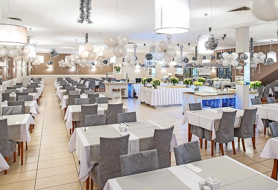 Akces Medical FIT&SPA, Kolberger Deep, Polnische Ostsee, Restaurant