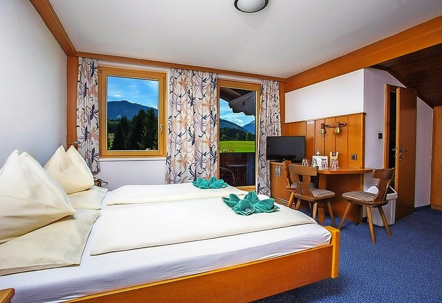 Hotel Berghof Mitterberg, Beispiel Doppelzimmer