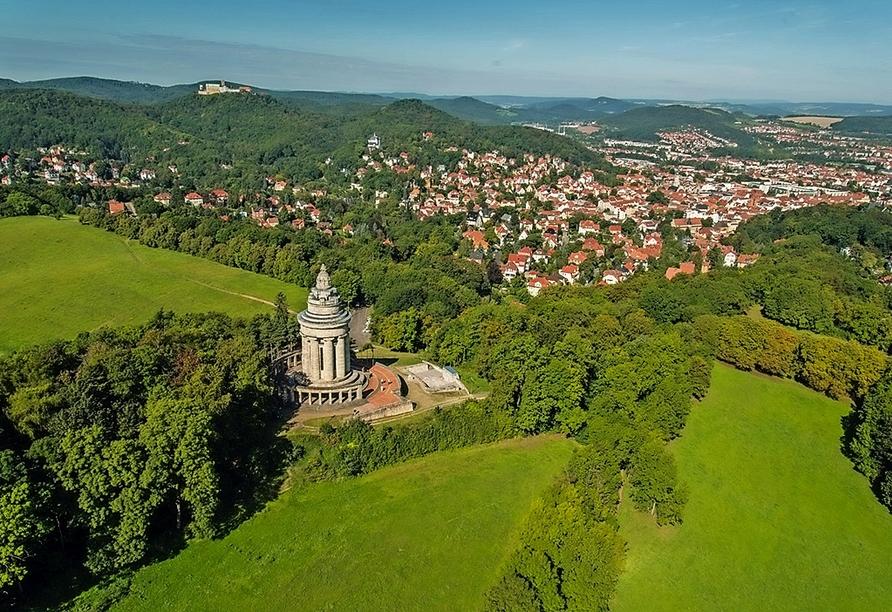 Göbel's Sophien Hotel in Eisenach in Thüringen, Natur