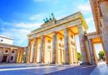 Das Brandenburger Tor ist weltbekannt und bei jedem Berlin-Trip ein Muss!
