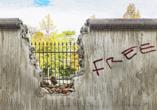 Ein Besuch der ehemaligen Berliner Mauer gehört zu einem Berlin Besuch dazu.