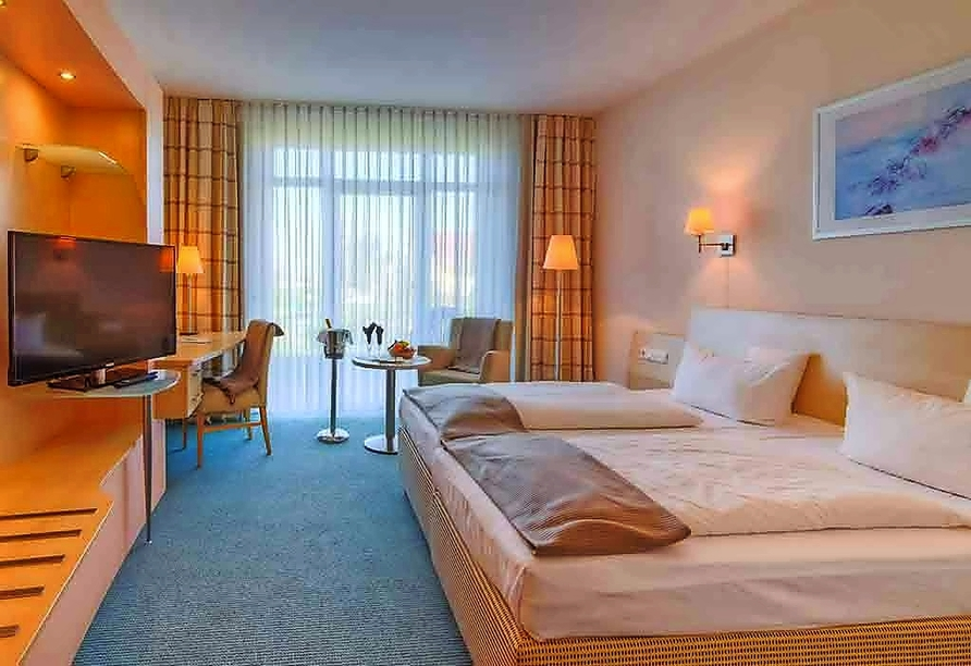 Sport- & Vital-Resort Neuer Hennings Hof in Perleberg, Beispiel Doppelzimmer