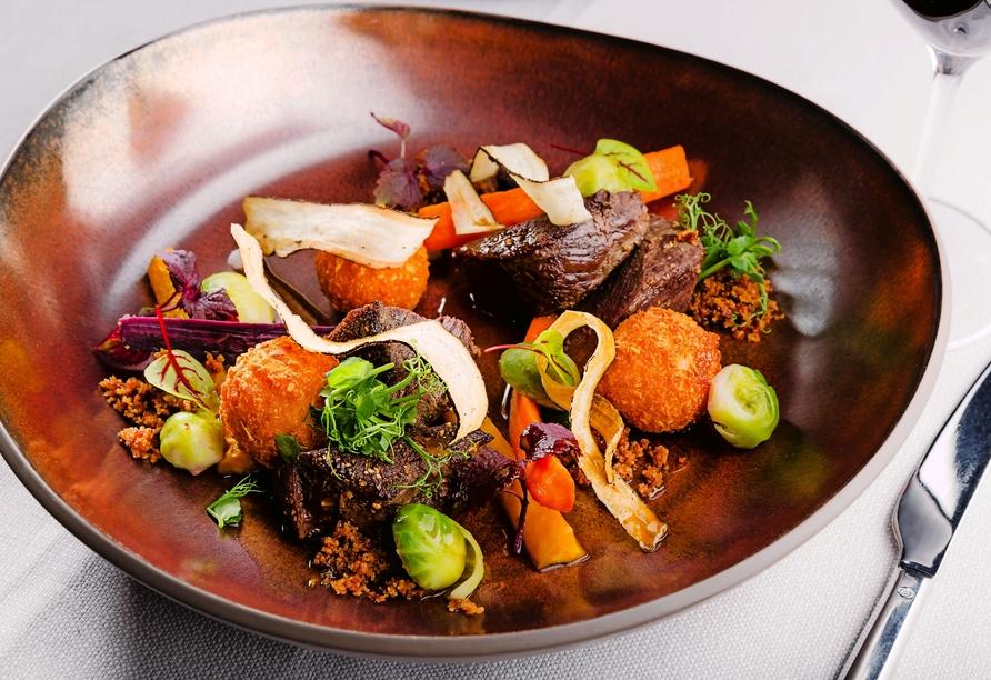 Freuen Sie sich auf hervorragende Speisen im Derlon Hotel Maastricht.