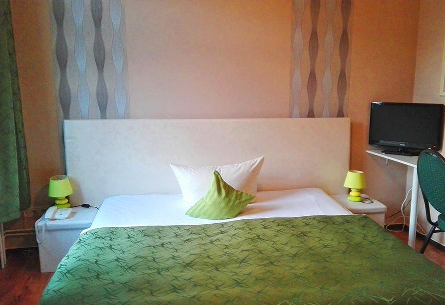 Beispiel für ein Einzelzimmer