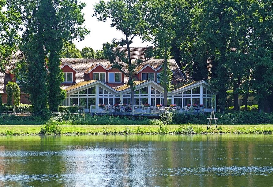 Hotel Saller See in Freren im Emsland Weg am See