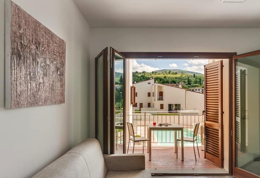 The Florence Hills Resort & SPA, Appartementbeispiel