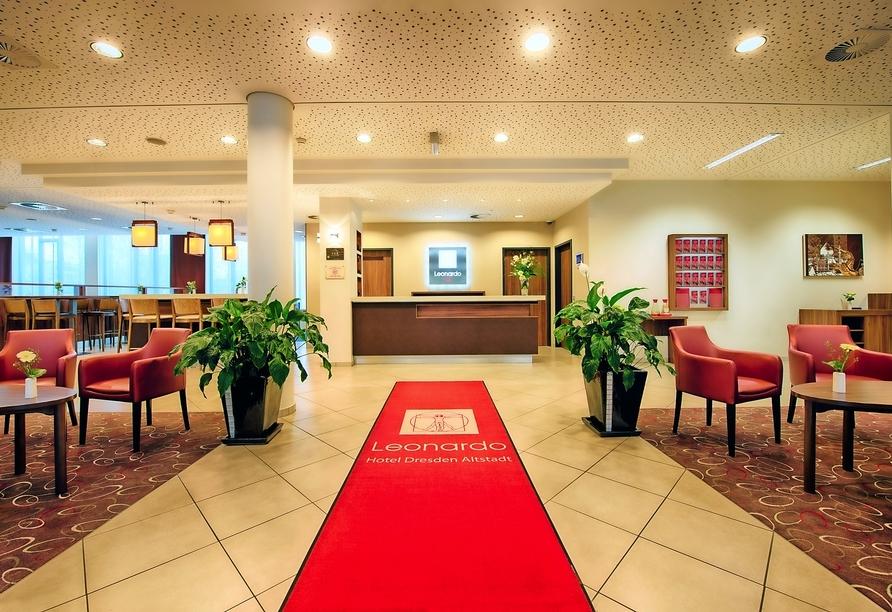 Leonardo Hotel Dresden Altstadt, Lobby