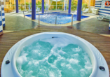 Whirlpool vom Hotel Baía Cristal Beach & Spa Resort