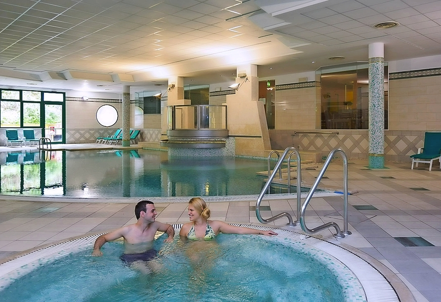 Parc Hotel Gritti, Bardolino, Gardasee, Italien, Hallenbad