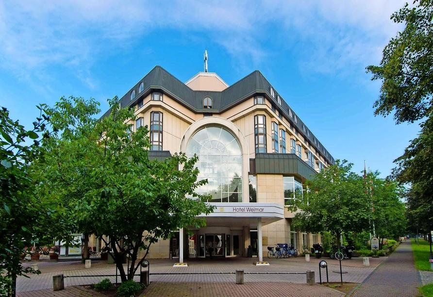 Leonardo Hotel Weimar, Außenansicht