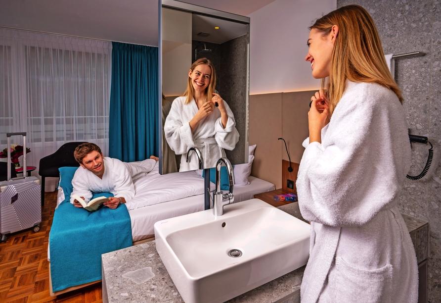 Hotel an der Therme Bad Sulza, Zimmerbeispiel