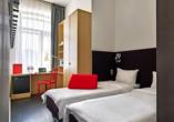 Moskau & St. Petersburg, Beispielhotel Zimmer
