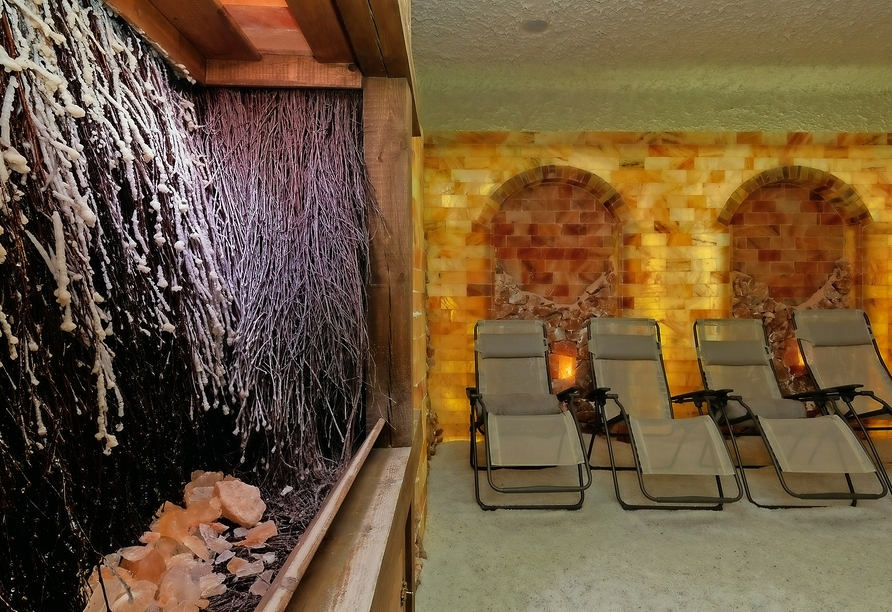 Wellness & SPA Residenz Bielik in Misdroy an der polnischen Ostsee, Salzgrotte