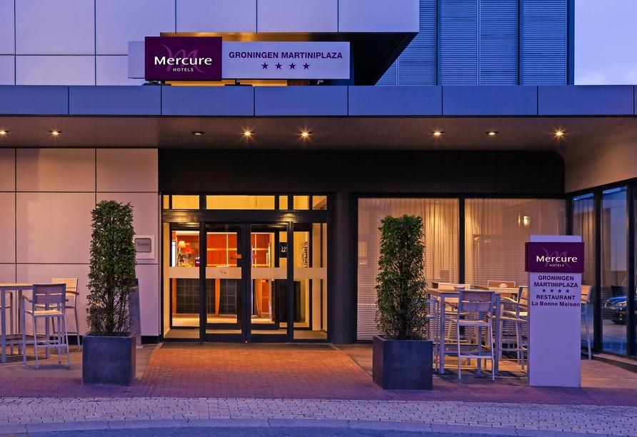 Mercure Hotel Groningen Martiniplaza, Außenansicht