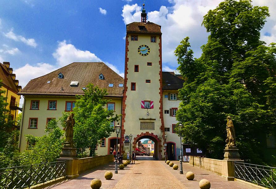 Ein Ausflug in das historische Waldshut mit dem Unteren Tor lohnt sich.