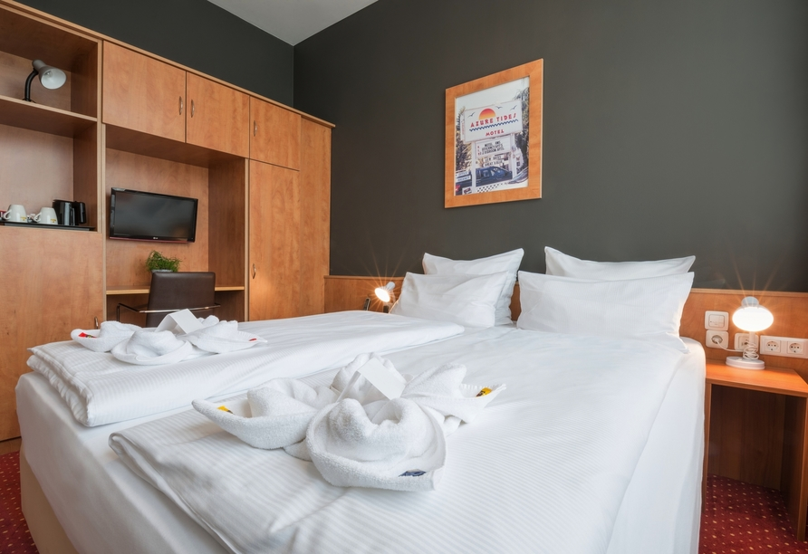 Best Western Amedia Hotel Passau, Doppelzimmer Komfort