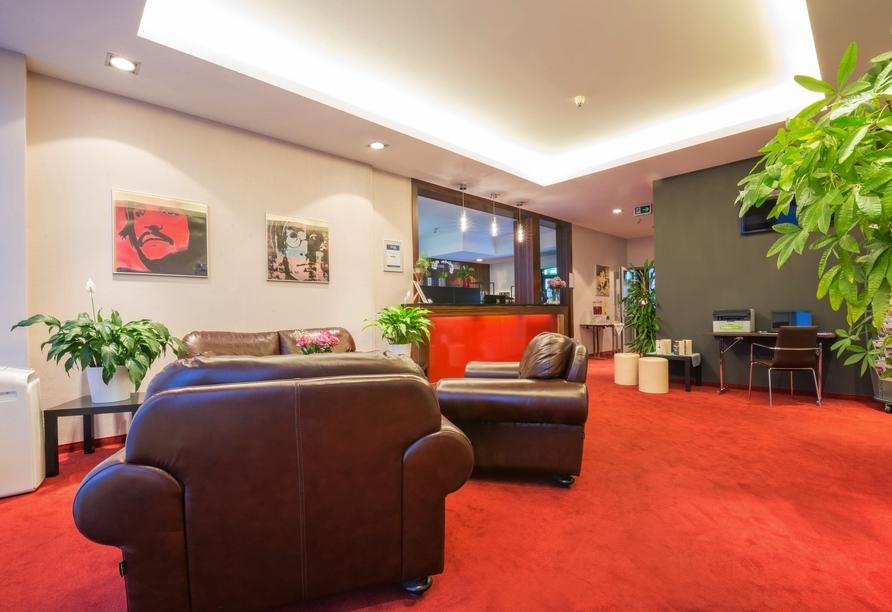 Best Western Amedia Hotel Passau, Lobby