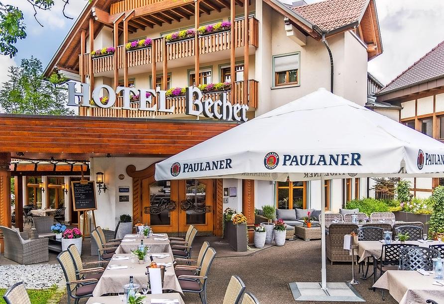 Willkommen im Hotel Becher in Donzdorf!