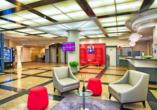 Lobby im Leonardo Hotel Munich Arabellapark