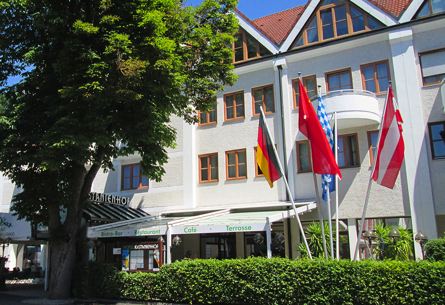 Herzlich willkommen im Hotel Kastanienhof in Erding!