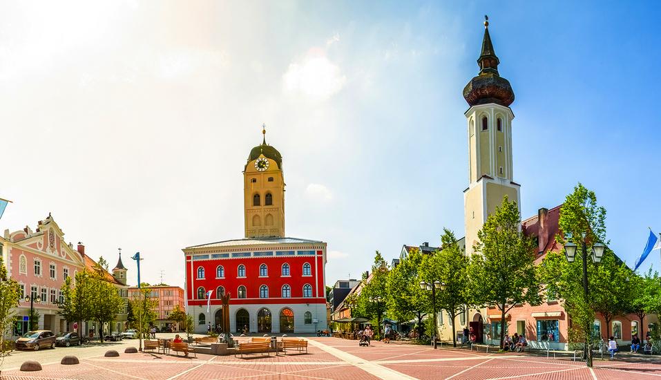 Schlendern Sie durch die schöne altbayerische Herzogstadt Erding.