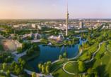 Ein Ausflug in die bayerische Landeshauptstadt München darf nicht fehlen.