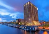 Leonardo Royal Hotel Amsterdam, Außenansicht