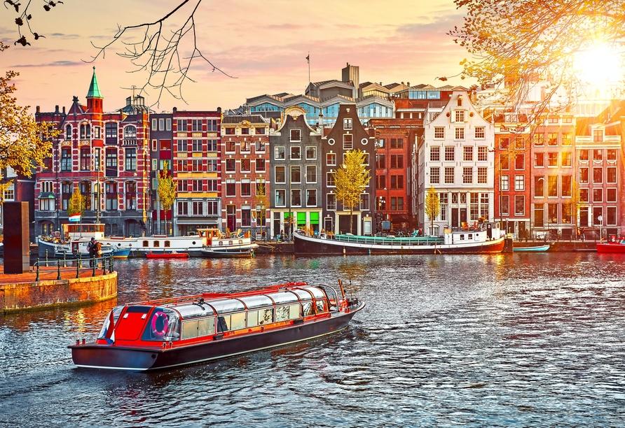 Leonardo Royal Hotel Amsterdam, Kanaltour
