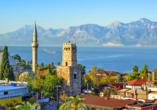 Beeindruckendes Panorama von Antalya.