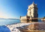 Hotel Mundial in Lissabon, Bélem Turm