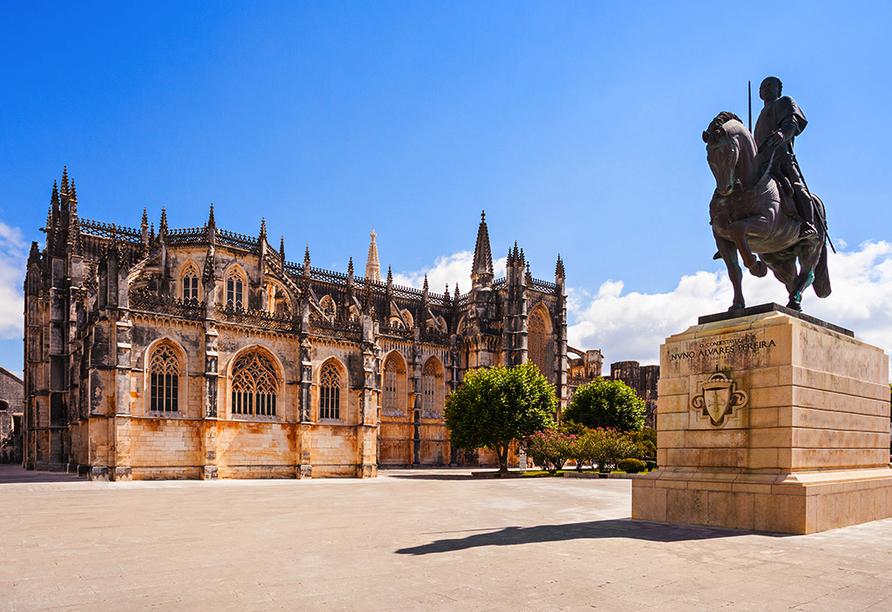 Bekannt ist Batalha insbesondere aufgrund des namensgebenden Klosters Batalha, das Sie besichtigen.