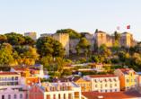 Das eindrucksvolle Castelo de São Jorge ist eines der ältesten Bauwerke Lissabons.