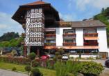 Außenansicht des Hotels Hirsch in Bad Peterstal-Griesbach