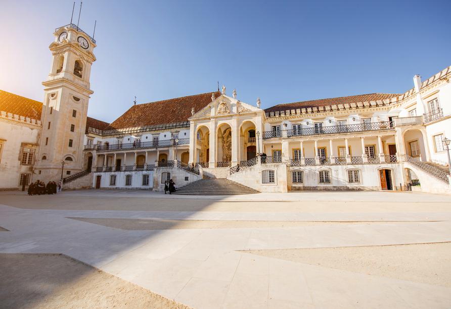 Coimbra ist die älteste Universitätsstadt Portugals.
