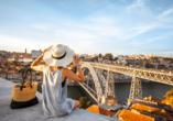 Porto wird auch die Stadt der sechs Brücken genannt.