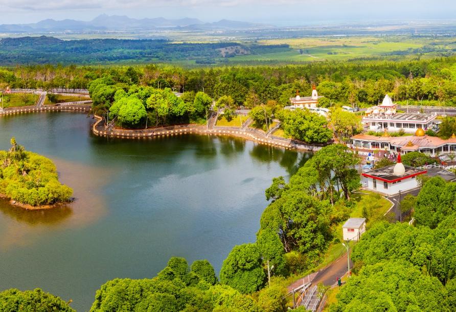Erkunden Sie die Tempelanlage von Ganga Talao.