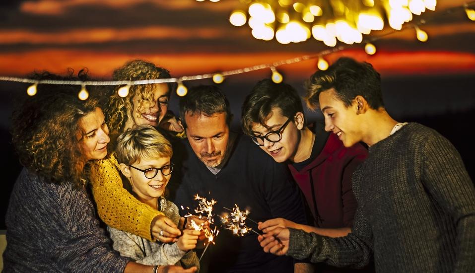 Verbringen Sie Silvester mit der ganzen Familie im Ferienwohnpark Silbersee!