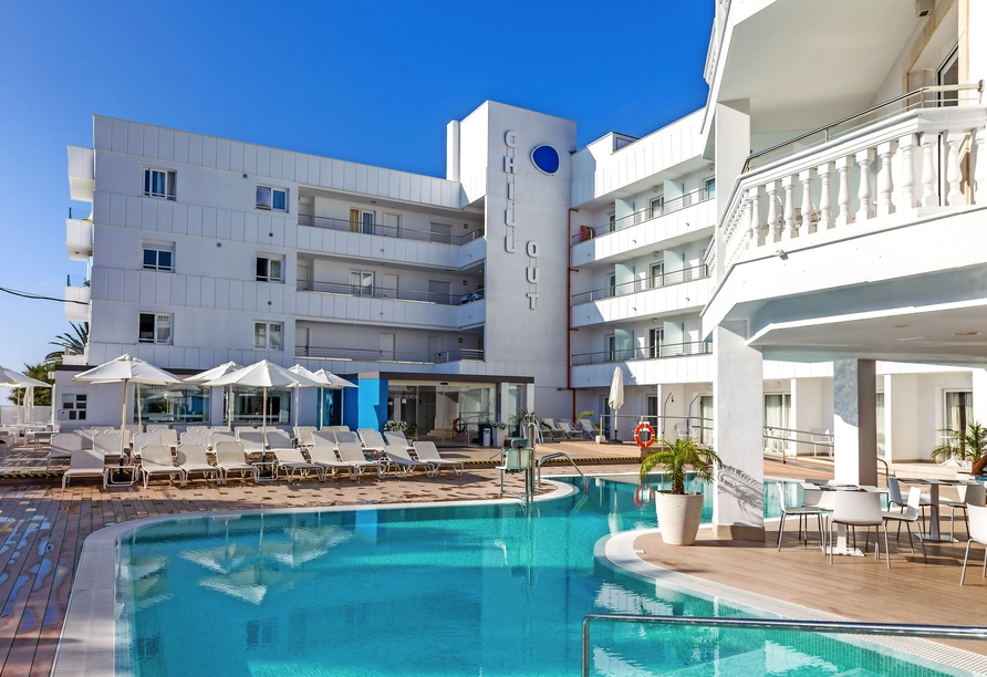 Hotel Sensity Chillout Triton Beach Cala Ratjada, Hotelaußenansicht
