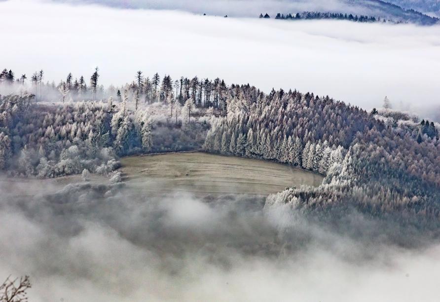 Das Hessische Bergland hat besonders im Winter seinen ganz eigenen Reiz.