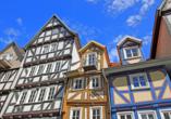 Ein Ausflug in die malerische Altstadt von Homberg lohnt sich auch im Winter.